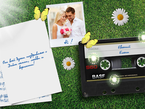 Видео открытки