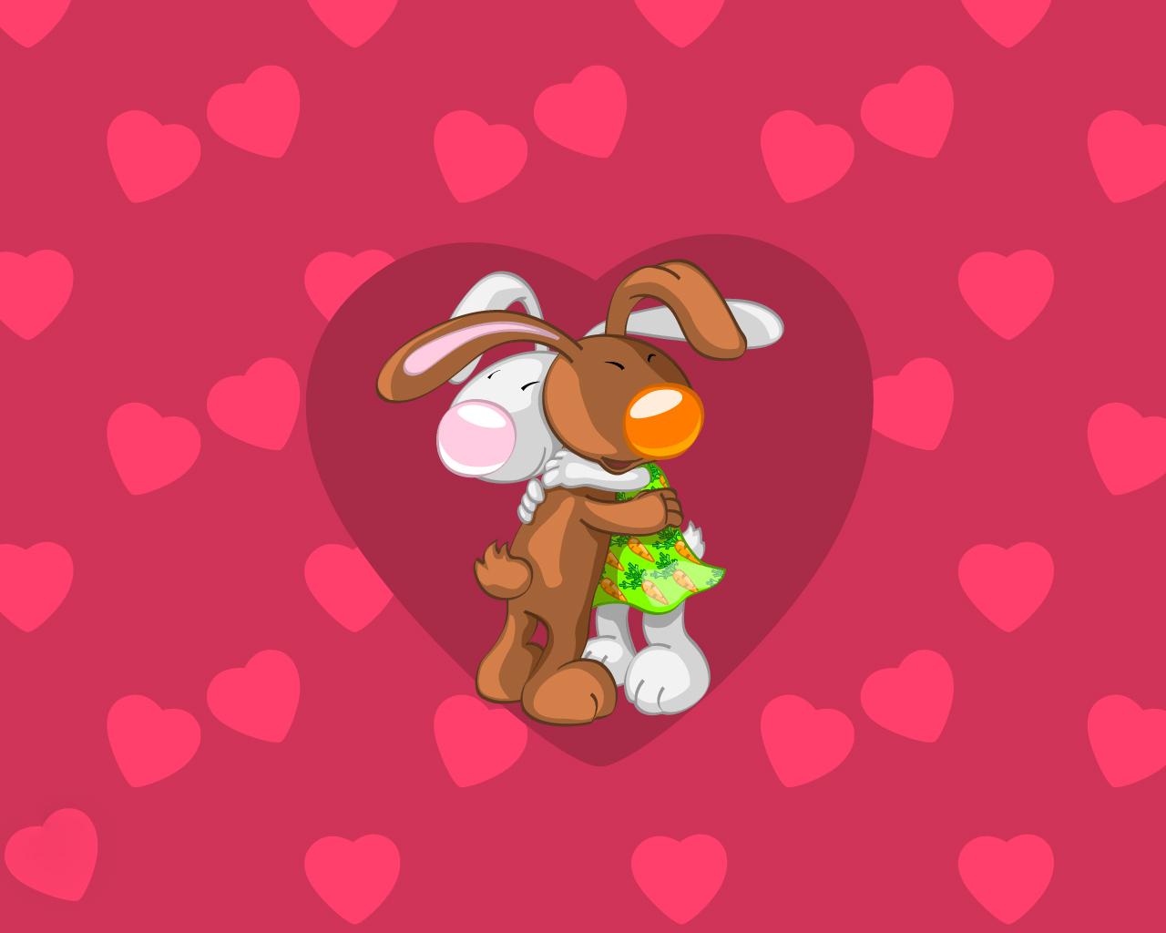 Открытки с любовью зайчик