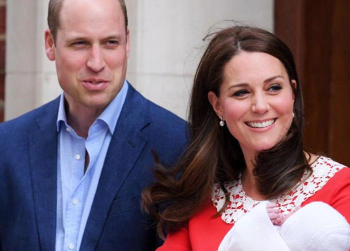 Герцог и герцогиня Кембриджские представили сына публике