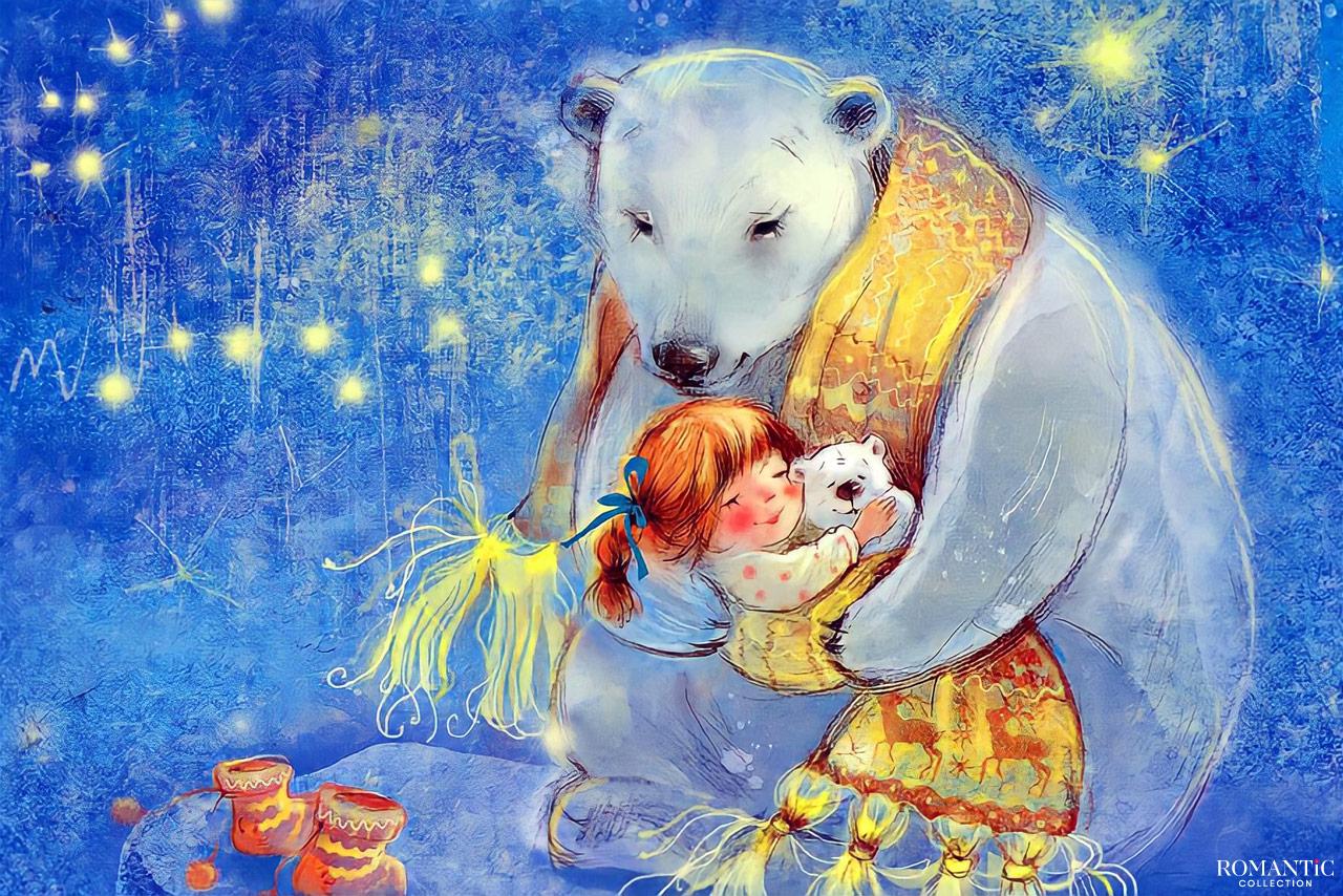 Притча о Белом медведе и маленькой девочке