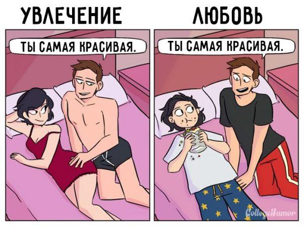Любовь vs. страсть