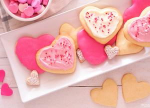 Печенье-сердечки