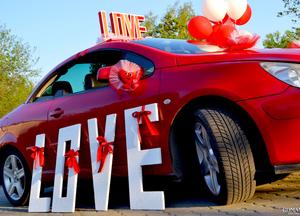 Подарок в машине