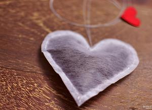 Чайный пакетик с любовью