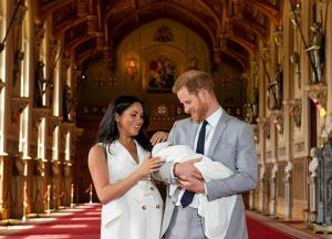 Принц Гарри и Меган Маркл стали родителями (+фото)