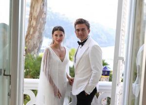 Регина Тодоренко и Влад Топалов сыграли пышную свадьбу в Италии