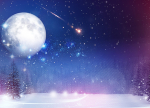 Над миром взойдет «снежная» Луна