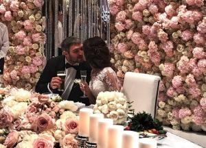 Александр Овечкин и Анастасия Шубская устроили шикарную свадьбу