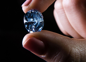 Трещина в алмазе