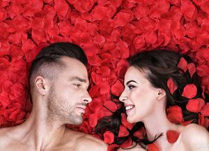 День святого Валентина: Лепестки роз