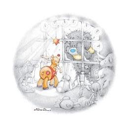 Галерея Мишки на белом фоне