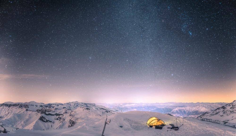 Романтика палаточного туризма