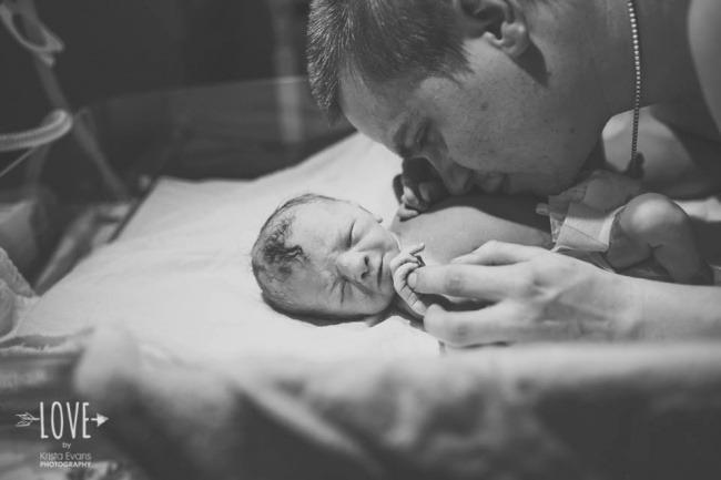 «Этот момент для каждого отца выглядит по-своему».