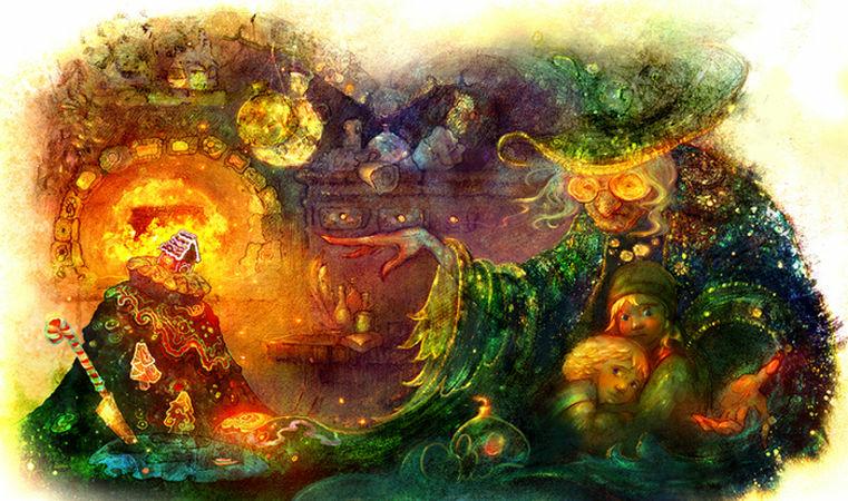 Сказочные миры Полины Яковлевой