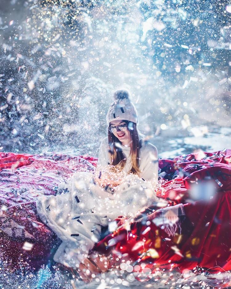 Волшебство новогодней Москвы в фотографиях