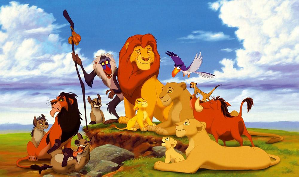 Кадры из фильма «Король Лев»