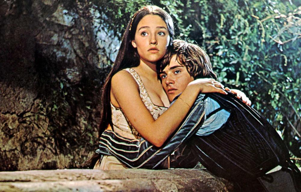 Кадры из фильма «Ромео и Джульетта»