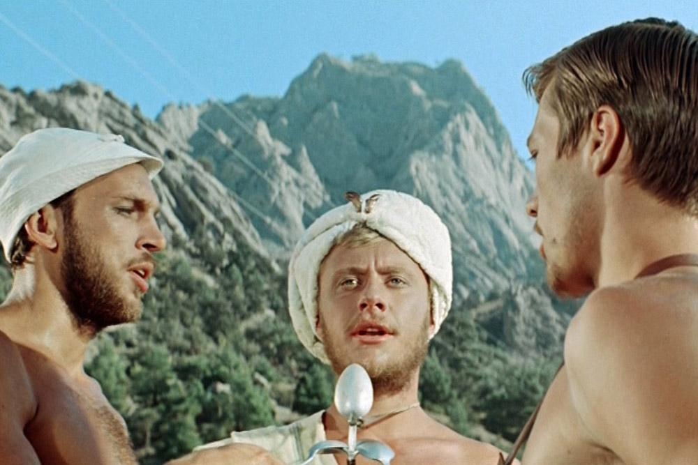 Кадры из фильма «Три плюс два»