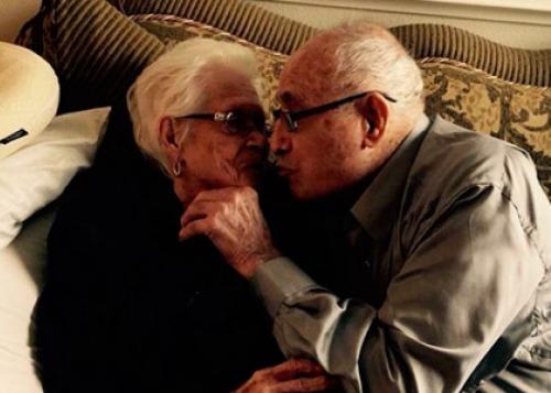 Счастливы вместе 82 года