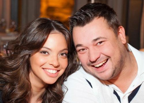Сергей Жуков обвенчался с женой