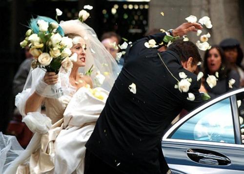 Молодожены развелись через три минуты после свадьбы