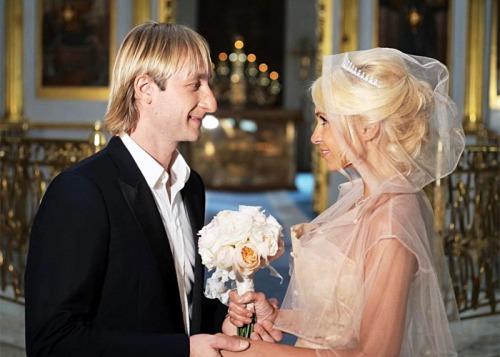 Рудковская и Плющенко обвенчались в Москве