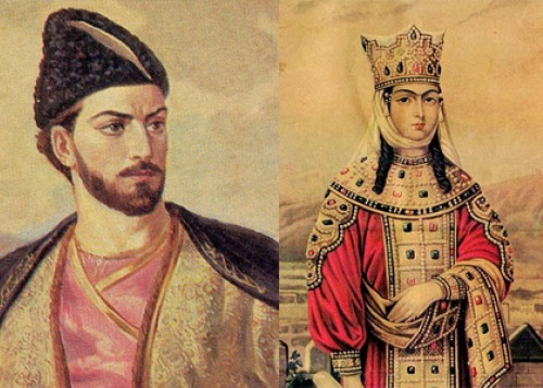 Тамара и Шота Руставели: царица и поэт