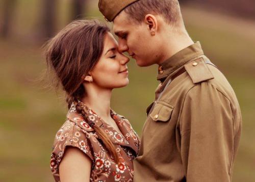 10 историй о любви, которые не поддались войне