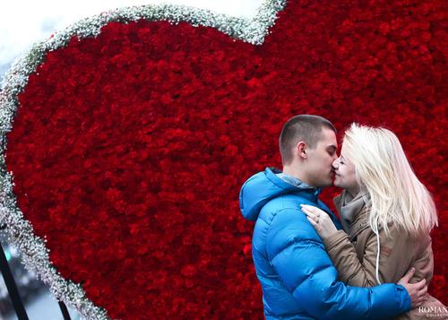 День святого Валентина: День влюбленных в парках Москвы 14 февраля 2016 года