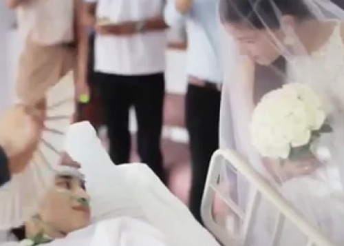 Видео: История мужества и любви. Свадьба за 10 часов до смерти