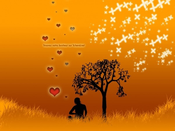 Обои о любви: Романтические обои