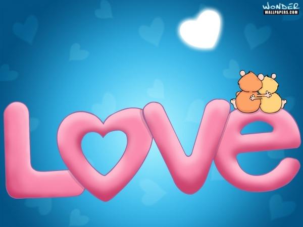 Обои о любви: Love
