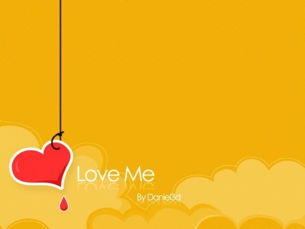 Обои о любви: Love Me