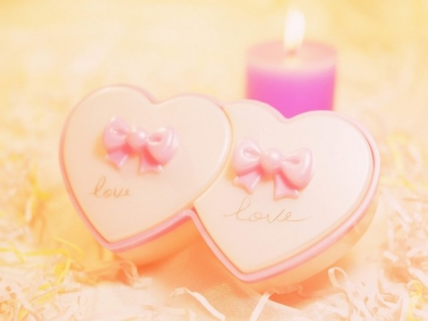Обои о любви: Свечи