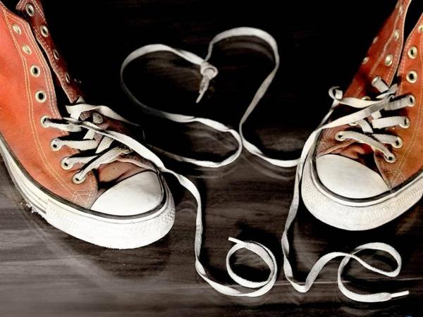 Обои о любви: Ботиночки Love