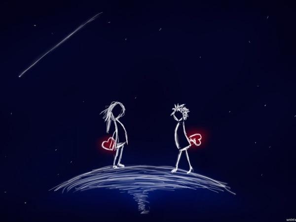 Обои о любви: На краю земли