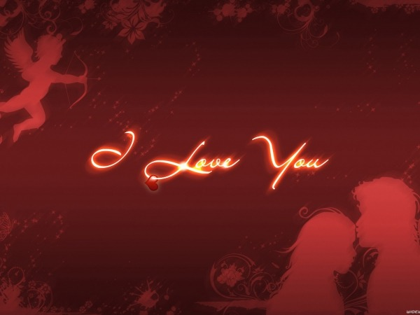 Обои о любви: I Love you, День Святого Валентина