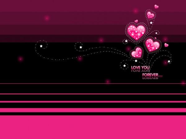 Обои о любви: Love you forever