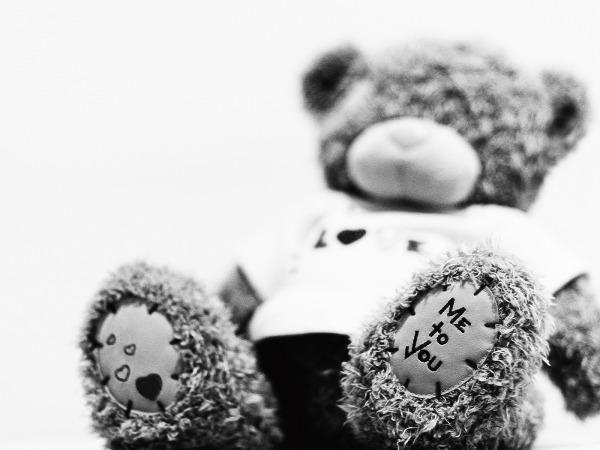 Обои о любви: Медвежонок Me to you