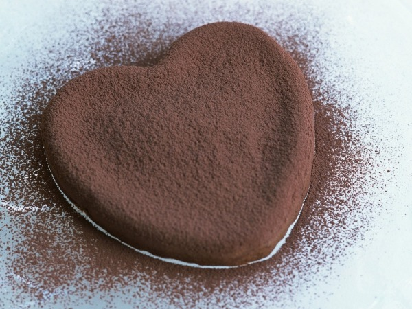 Обои о любви: Шоколадное сердце