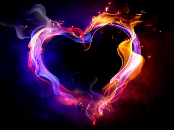 Обои о любви: Фантастическое сердце