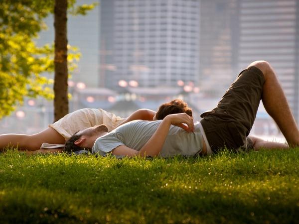 Обои о любви: Любовь в большом городе