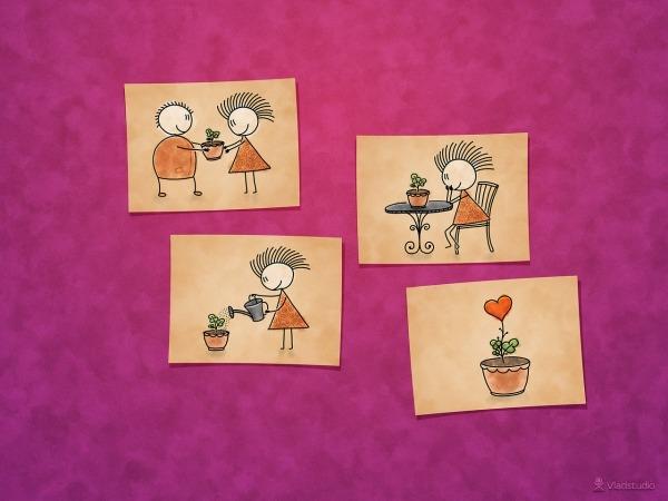 Обои о любви: Картинки о любви