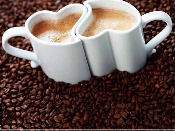 Обои о любви: Любовь и кофе