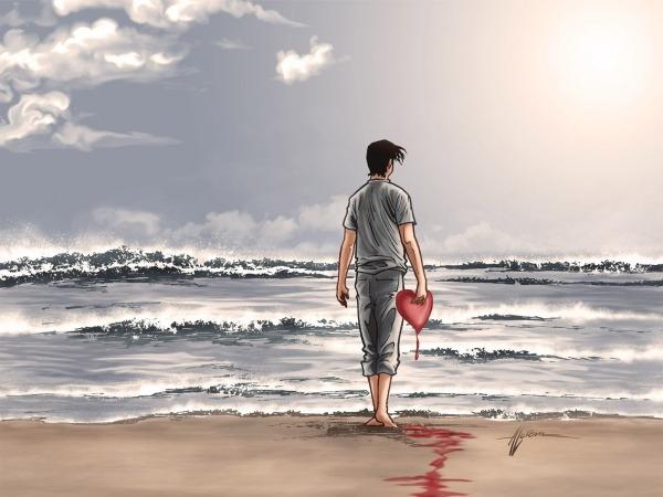 Обои о любви: На краю любви