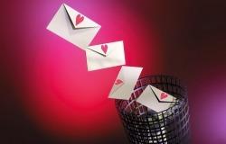 Обои о любви: Письма любви