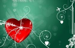 Обои о любви: Сердце обои