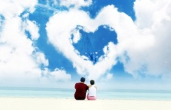 Обои о любви: Влюбленная пара