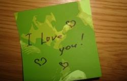Обои о любви: I Love You