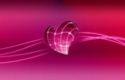 Обои о любви: Неоновое сердце